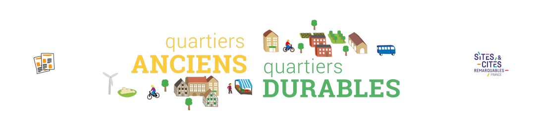 Quartiers anciens, Quartiers durables Logo